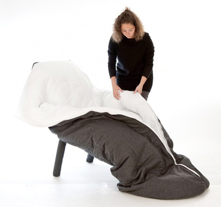 そのまんま寝れる椅子「COCON」