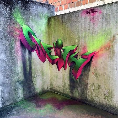 ストリートアーティストが壁に描いた3Dストリートアート18選
