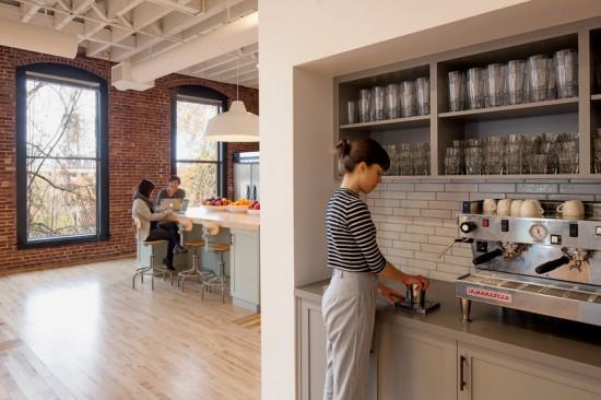 ポートランドの会社airbnbのオフィス