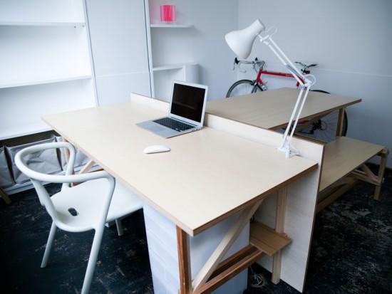 3坪の小さなオフィス「3T DIY OFFICE」