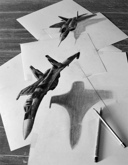オランダ人アーティストRamon Bruin氏による3D Drawing