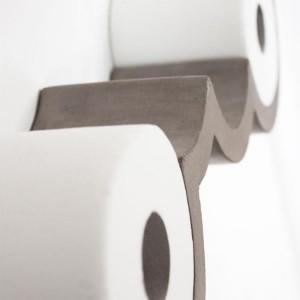 雲の形をしたトイレットペーパーホルダー「cloud Toilet Paper Shelf」 注文住宅、家づくりの