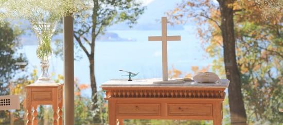 Bella Vista(リゾートホテル ベラビスタ境ガ浜)のチャペル「ribbon chapel」