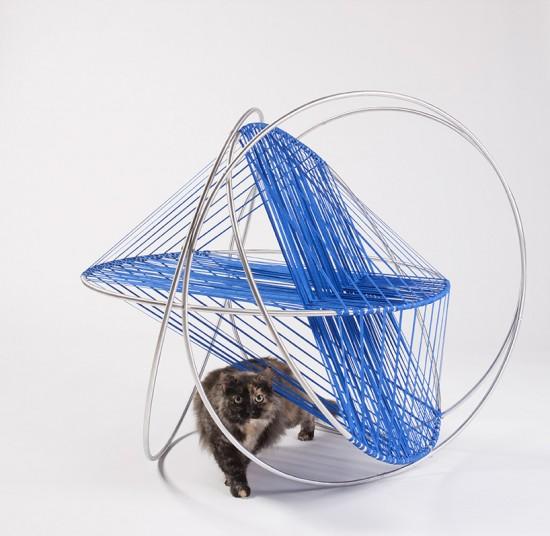 建築家がデザインした猫の為の住居