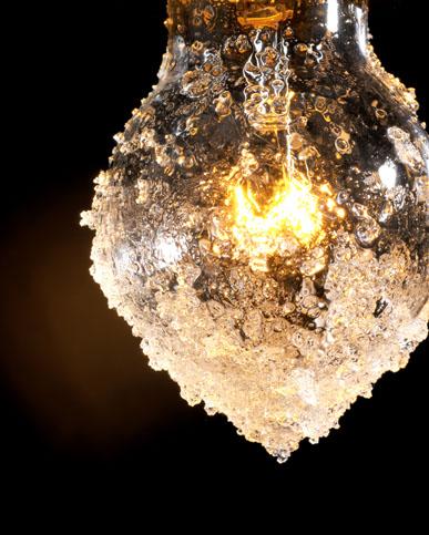 永久凍土が急速な勢いで溶けはじめている様子を警鐘するランプ「Edoma」