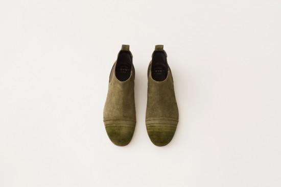 油性マジックで柄を描いた革靴「marker-shoes」