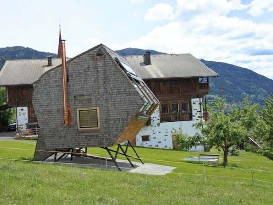 UFOと鳥を掛け合わせて出来た名前の五角形のお家「Ufogel」