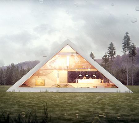 ピラミッドの家