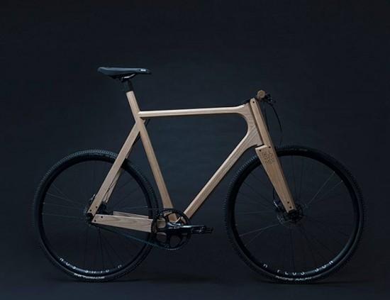 細部にわたってこだわりぬいた、木で出来た自転車「The Wooden Bike」