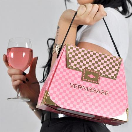 中からワインが出るハンドバッグ