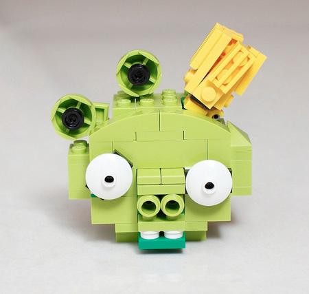 レゴブロックでつくったアングリーバード