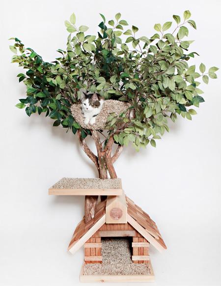 猫のためのツリーハウス