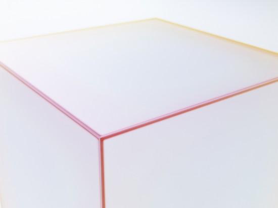 柔らかな色の滲みを表現した テーブル「soft」