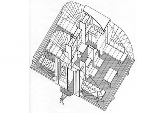 床面積が3倍にもなる仮設住宅「De Markies」