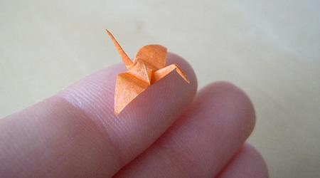 ミニチュア折り紙