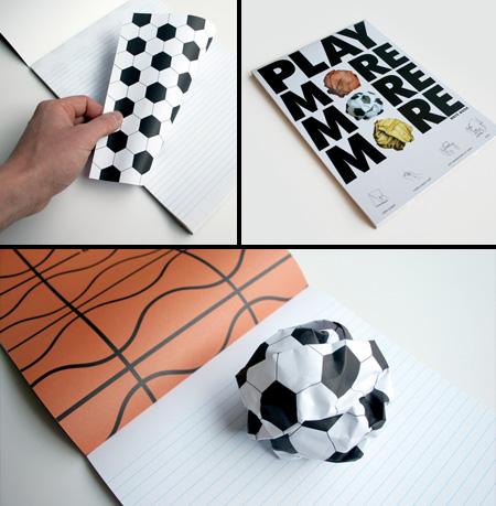 クールでユニークなノートブック