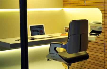 庭やデッドスペースにぴったりなオフィス「OfficePOD 」