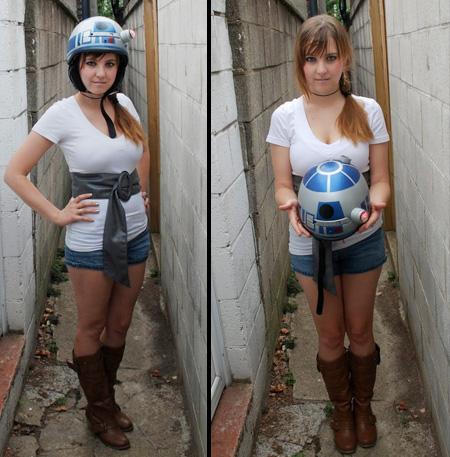 Star Wars(スターウォーズ)にインスパイアされてつくったR2-D2 Helmet。