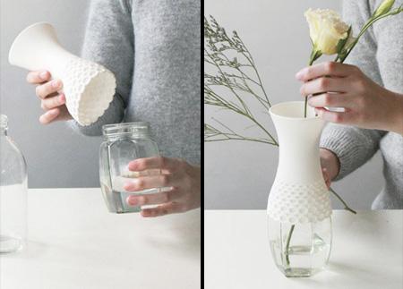クリエイティブな花瓶