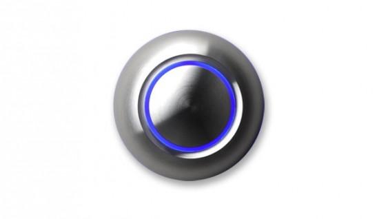 近未来的なデザインのドアベル