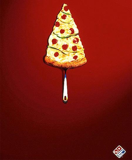 クリスマスの広告