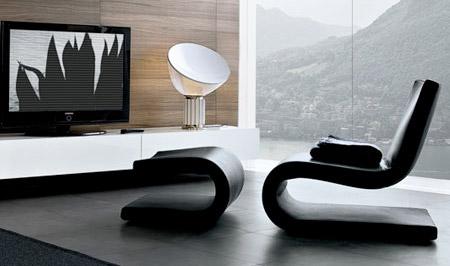 chaユニークなデザインの椅子