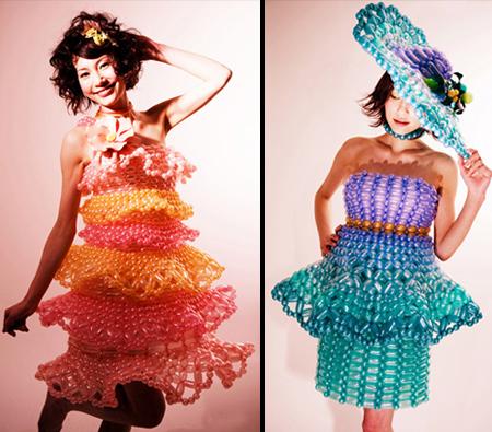 ちょっと変わったドレス