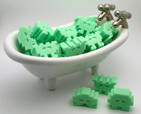 ユニークな石鹸