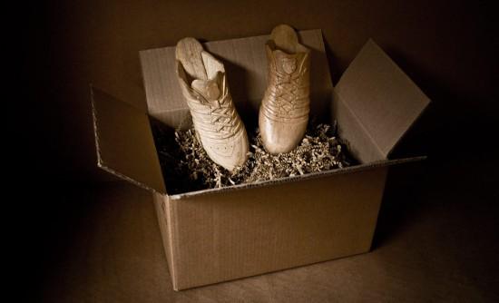 全部が木で出来た靴「Woodwalk」