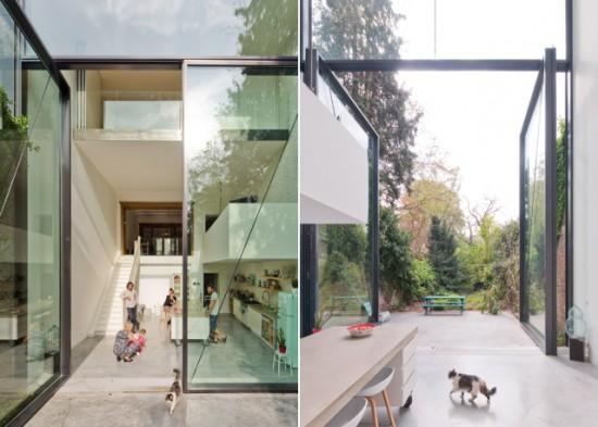世界一大きな外開きの窓がある家