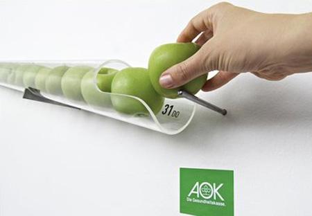 りんごのカレンダー
