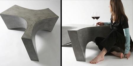 モダンなコーヒーテーブル