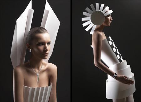クリエイティブなドレス