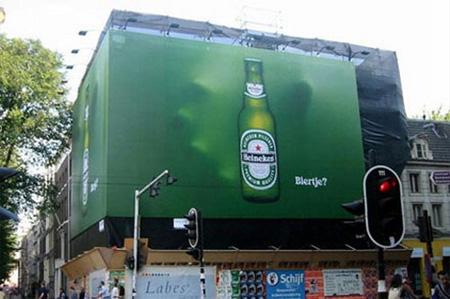 【世界の広告】ハイネケンのクリエイティブな広告