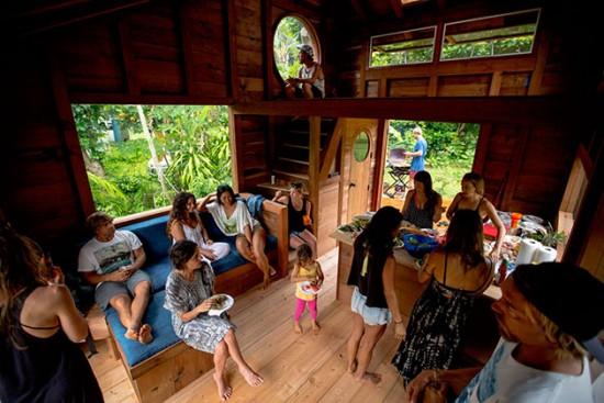 ハワイにある18.5平方メートル(約11.2畳)の小さな小屋