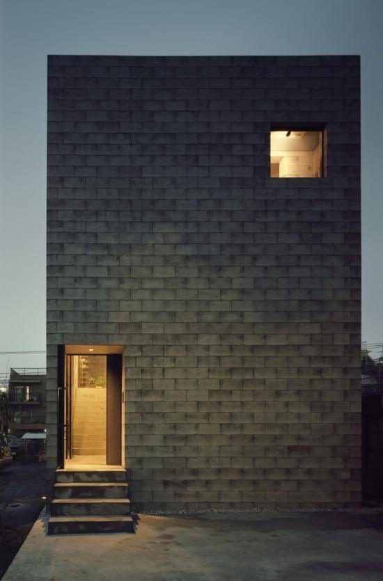 コンクリートブロックで出来たおしゃれなお家「701-house」