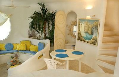 気分はまるでマーメイド!カリブ海にある白い貝殻の家