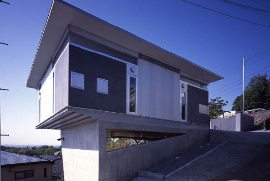 アトリエ天工人により建てられた神奈川県にある住宅「aLuminum-House」
