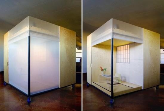 キューブ型の和室