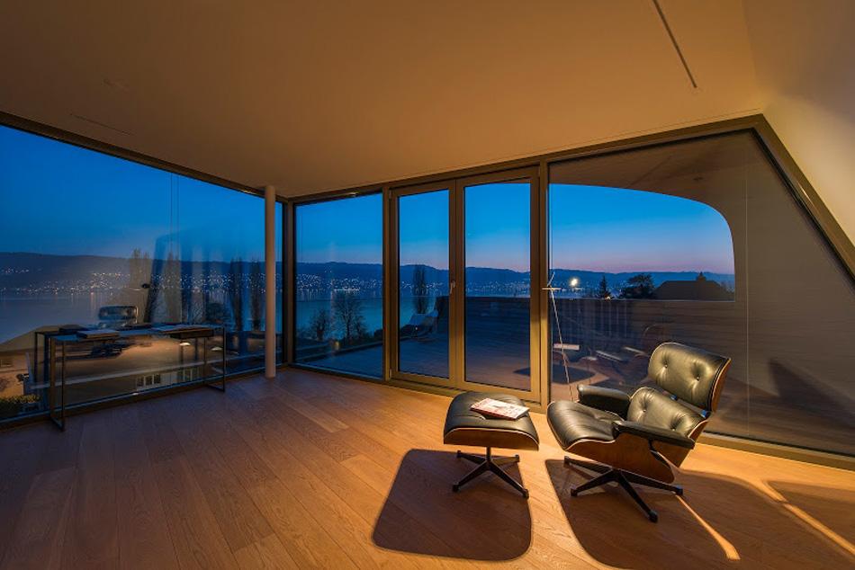 flexhouse top+floor studio 視点21(夜) 設計: evolution design