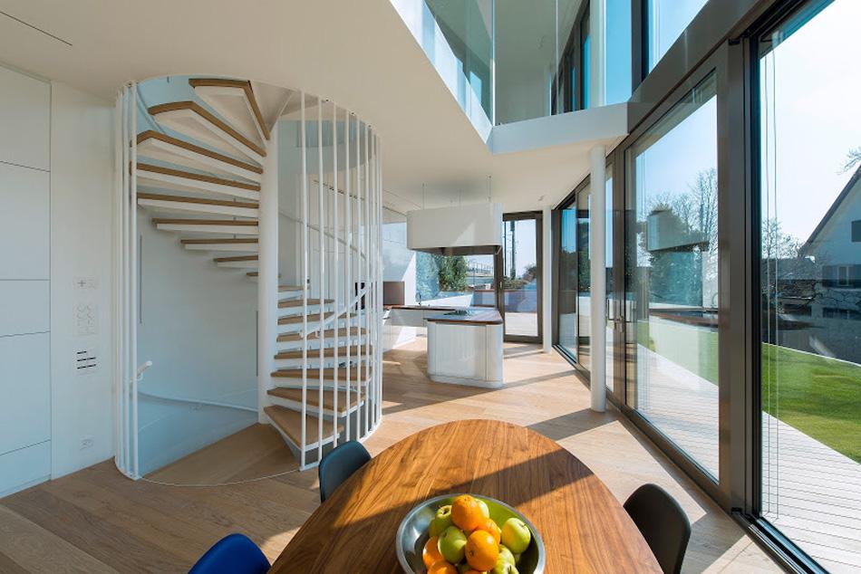 flexhouse ground+floor dining+area+Kitchen 視点8 設計: evolution design