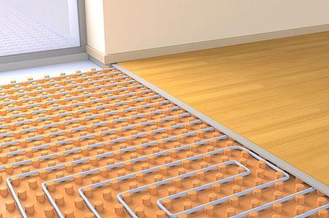 床暖房の部屋1