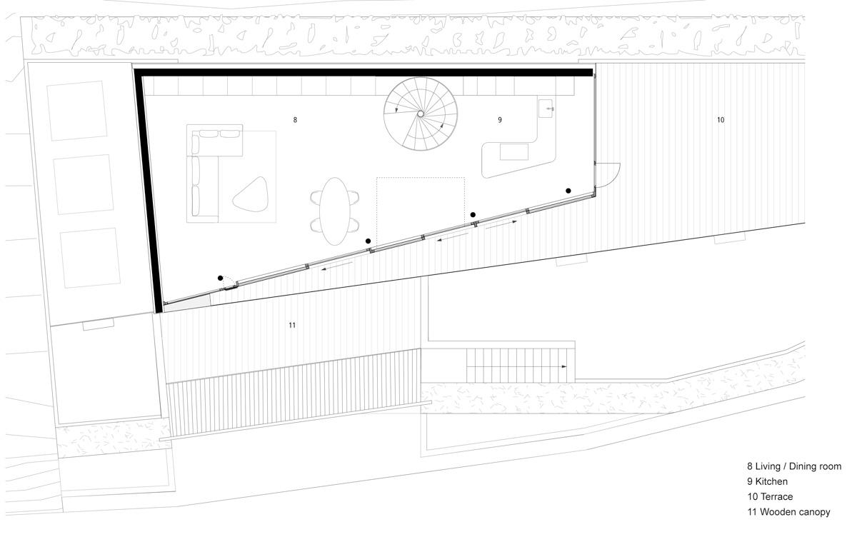 flexhouse ground foor 設計: evolution design
