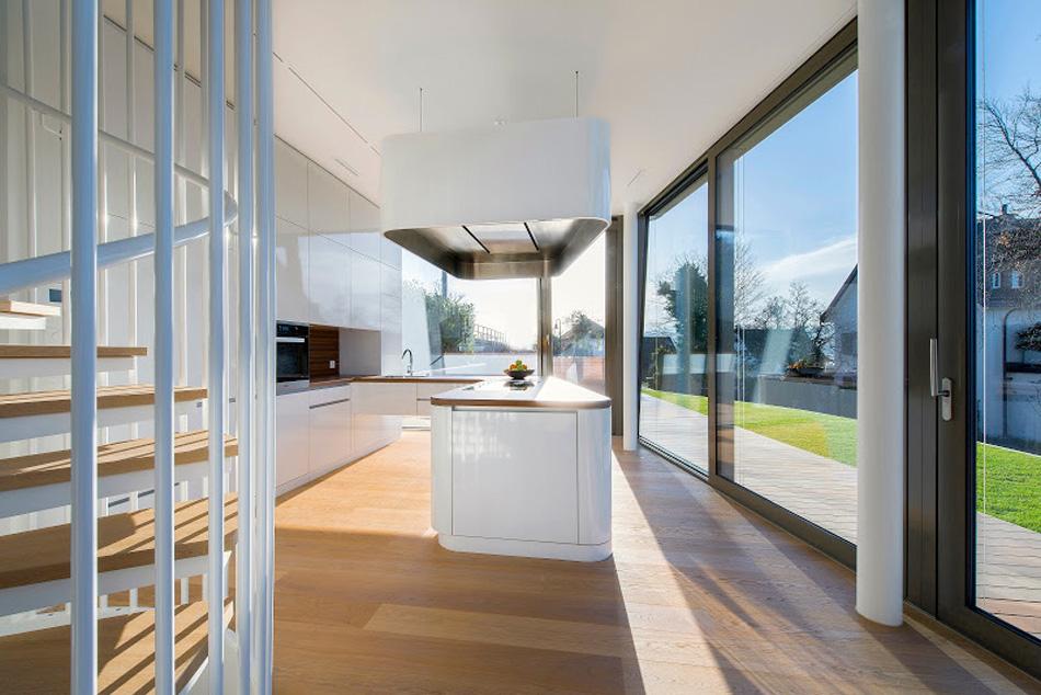 flexhouse  ground+floor kitchen 視点8 設計: evolution design