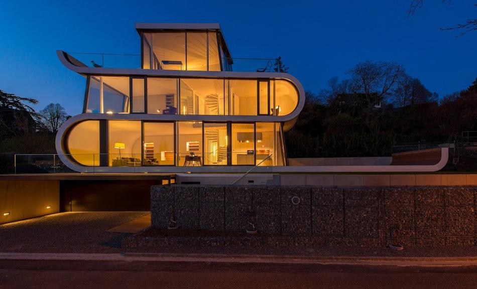 flexhouse external 2 (夜)設計: evolution design