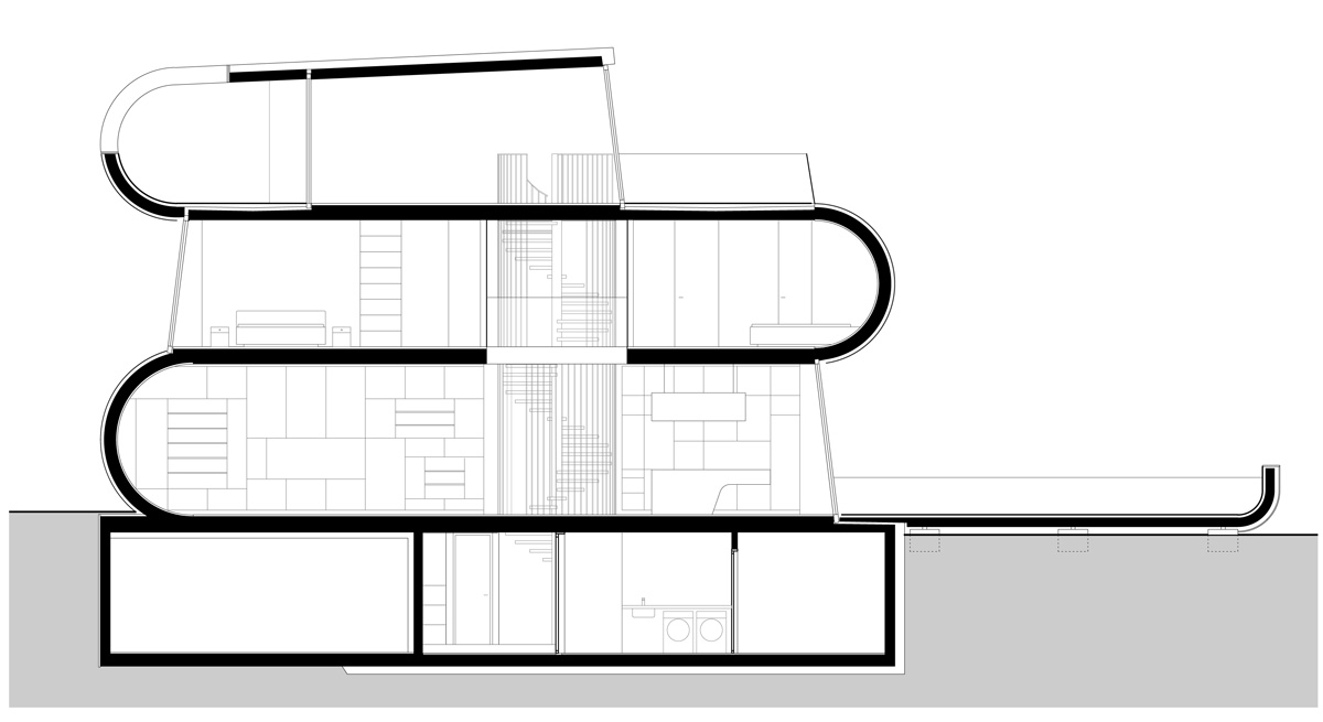 flexhouse flexhouse drawings 設計: evolution design