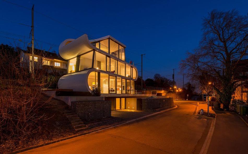 flexhouse external (夜)設計: evolution design
