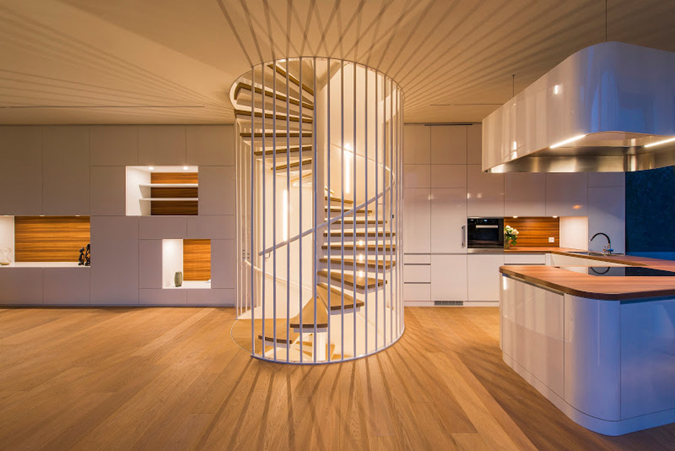 flexhouse spiral staircase 視点8 設計: evolution design