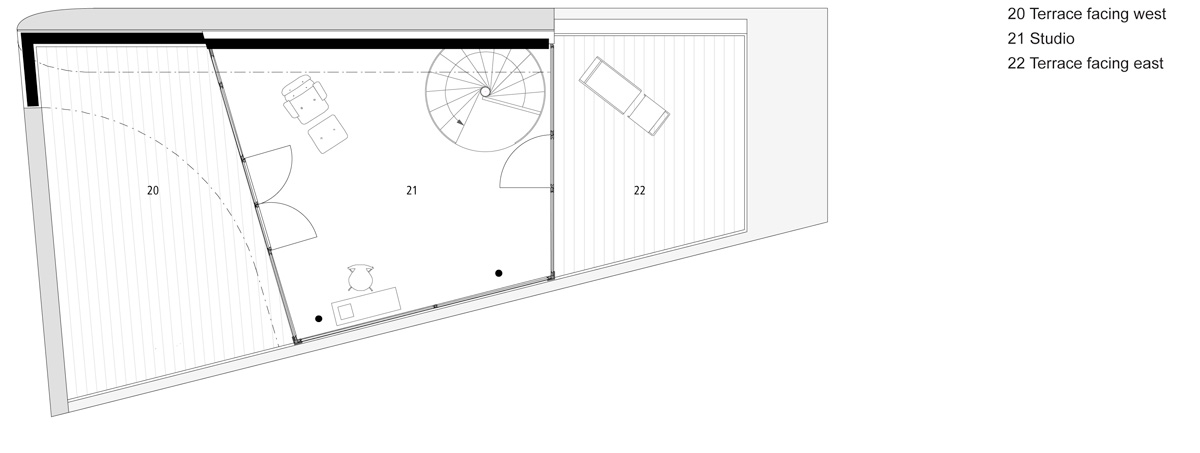 flexhouse top floor 設計: evolution design