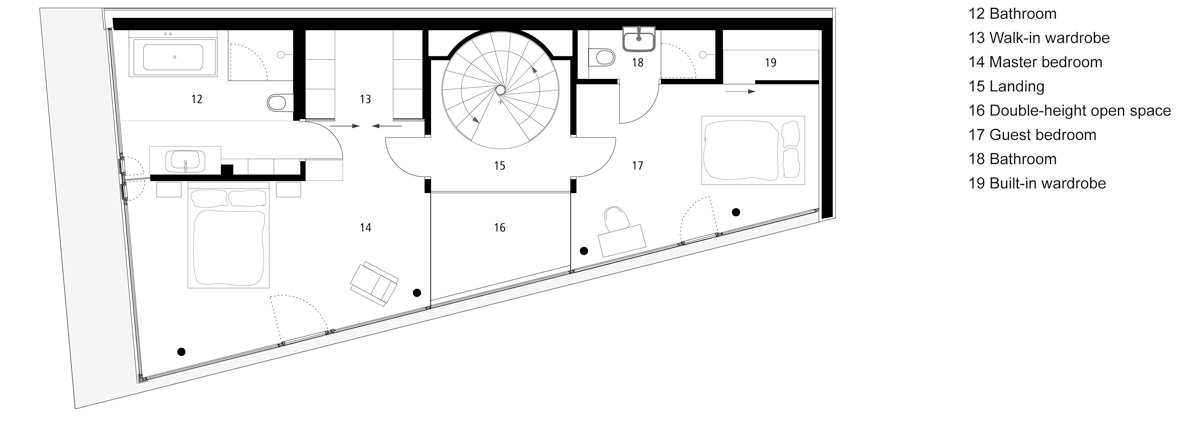 flexhouse first floor 設計: evolution design